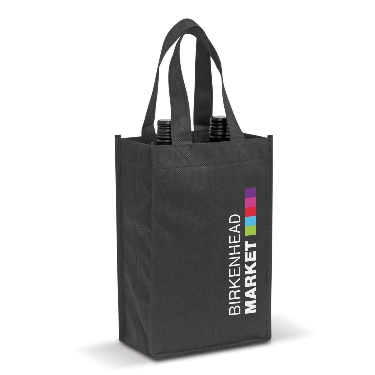Imprinted Double Wine Bags