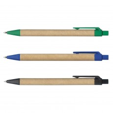 Eco Cardboard Barrel Pens