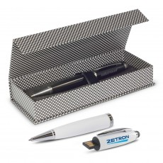 Custom Branded Multifunctional Pen with USB