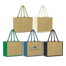 Customised Glasgow Jute Tote Bag