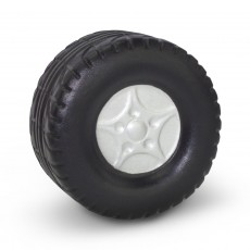 Printed Wheel Shaped Stress ball
