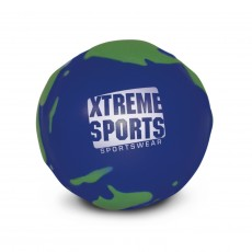 Branded Globe shaped stress ball