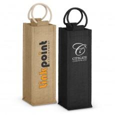 Branded Jute Wine Bags