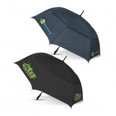 Branded Colour Match Golf Umbrellas