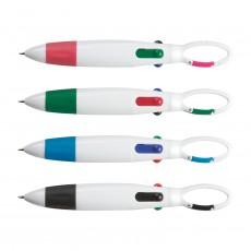 Branded Carabiner Retract Pens