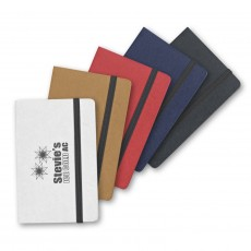 Imprinted Card Case with Notes and Flags