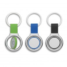 Promotional  Spinning Metal Keyrings