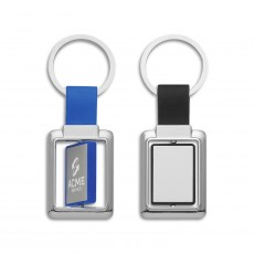 Promotional  Rectangle Spinning Keyrings