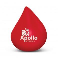 Blood Drop Stress Balls