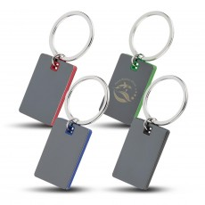 Mirorred Key Tag - Colour