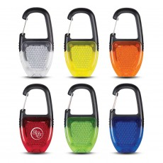 Branded Safety Light Key Ring