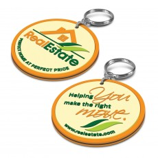 PVC Double Sided Keyrings
