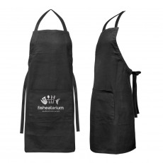 Personalised Black Bib Aprons