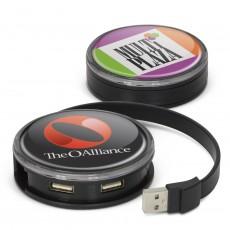 Custom Round USB Hubs
