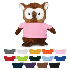 Branded Large Plush Owl