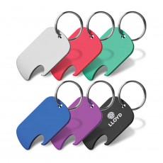 Bottle Opener Dog Tag Keyrings