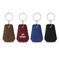 Promotional Leather Look Opener Keyrings