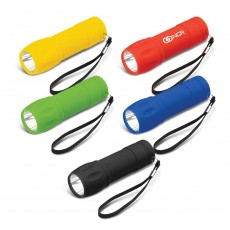 Branded Rubber Touch Torches