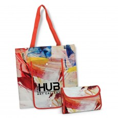 Branded Marbella Compact Tote Bags