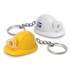Printed Hard Hat LED Keyring s