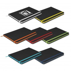 Promotional Trent Black Notebooks
