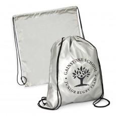 Silver Drawstring Bags
