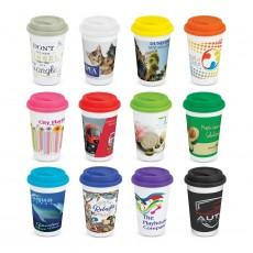 Prime Coloured Double Wall Cups