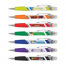 Promotional Ball Pen with Highlighters