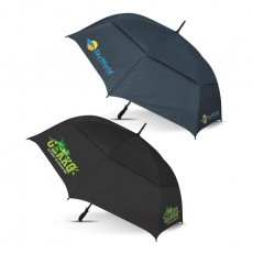 Branded Colour Match Golf Umbrellas