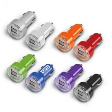 Branded Double USB Output Car Charger