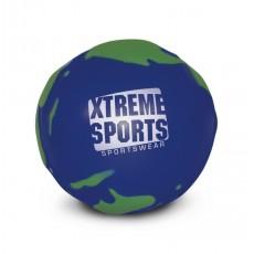 Branded Globe shaped stress ball