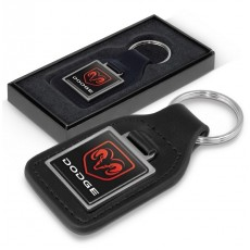 Branded Leather Keyrings