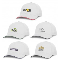 Branded Premium Soft White Caps