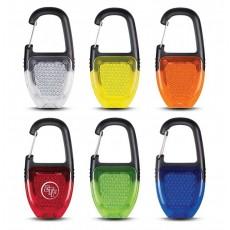 Branded Safety Light Key Ring