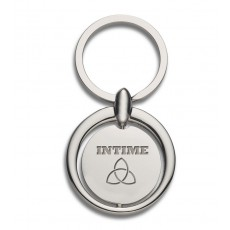 Custom Circle Metal Keyrings
