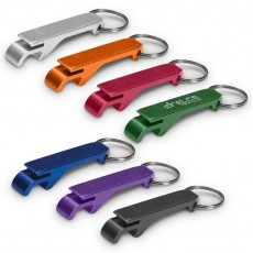 Dual Key Ring And Bottle Opener