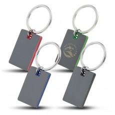 Mirorred Key Tag - Colour