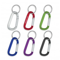 Personalised Keyring Carabiner Clips