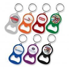 Printed Handy Bottle Opener Key Ring
