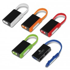 Printed Safety Light Key Ring Combo