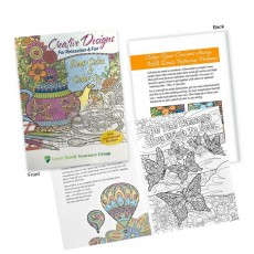 Promotional Colouring Book for Adults