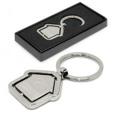 Promotional House Spin Keyring