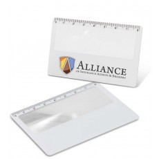 Promotional Ruler card magnifier
