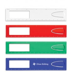 Promotional Ruler Magnifier and Bookmark