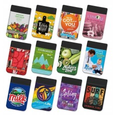 Promotional Stretch Lycra Phone Wallets Full Colour