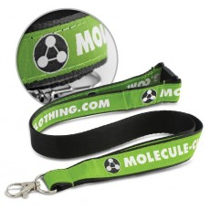 Promotional Woven Stitched Lanyards