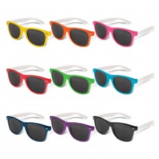 Stacey White Arm Sunglasses