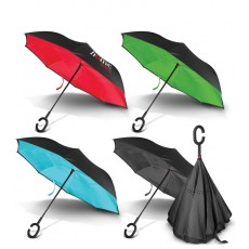 Upside Down Umbrellas