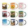 Customised Dual Colour Mugs